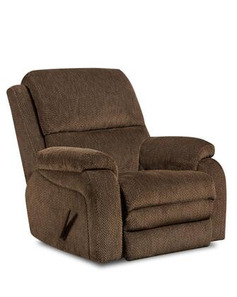 Chelsea Home Furniture 1895707980PWR Oakdale Series Transitional Fabric Wood Frame Rocking Recliners