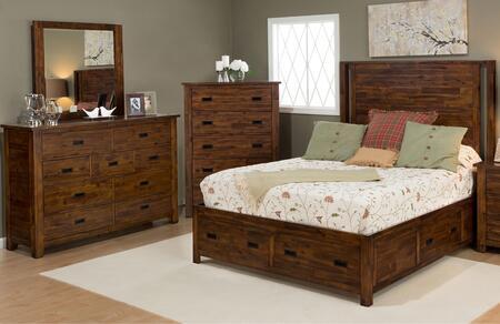 Jofran 1503KPBDM Coolidge Corner King Bedroom Sets