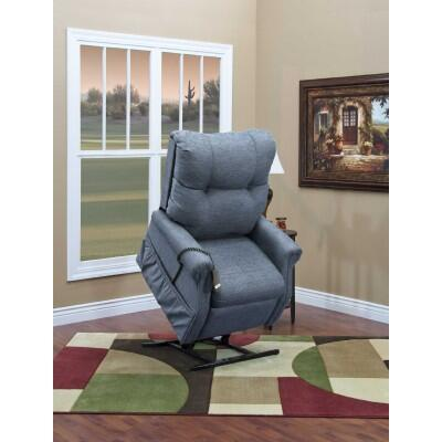 Medlift 1155DB Traditional Vinal Wood Frame  Recliners