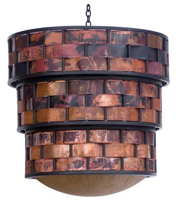 Stone County Ironworks 916-014 Rushton Chandelier