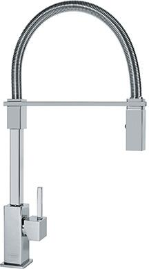 Franke FF28 Planar 8 Flex Pull-Down Spray Faucet in