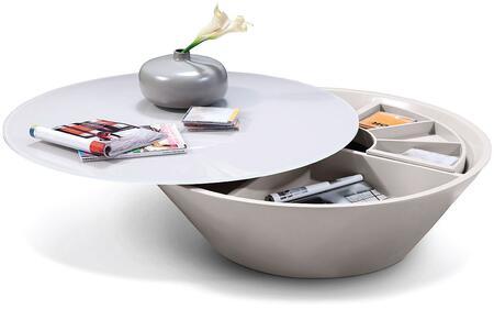 VIG Furniture VGWCP505C Light Grey Modern Table