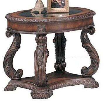 Coaster 3891 Doyle Series Traditional Wood Oval None Drawers End Table