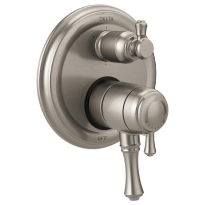Cassidy T27997-SS Delta Cassidy: Traditional Monitor 17 Series Valve Trim with 6-Setting Integrated Diverter in Stainless