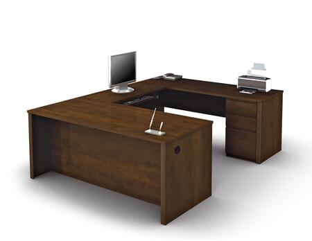 Bestar Furniture 99871 Prestige + U-shaped workstation