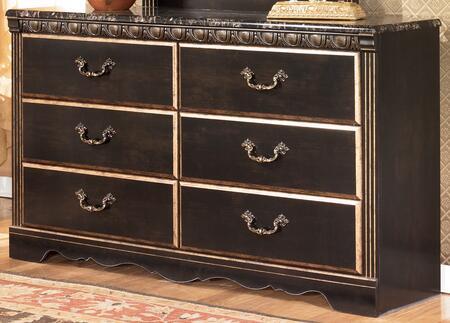 Milo Italia BR26220 Brandt Series Wood Dresser