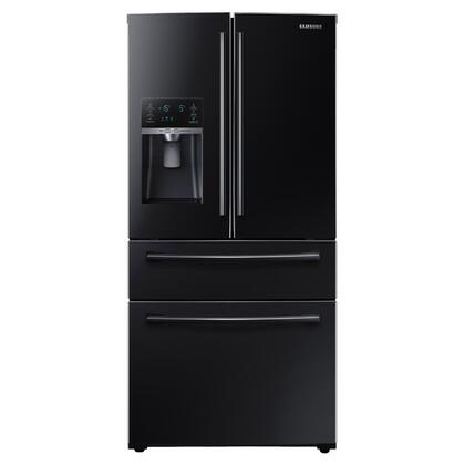 Samsung Rf28hmedbbc 36 Inch French Door Refrigerator With