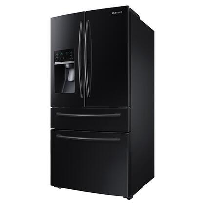 Samsung Rf28hmedbbc 36 Inch French Door Refrigerator With