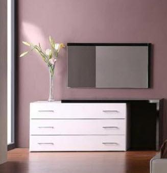VIG Furniture VGKCINFINITYDRM  Wood Dresser
