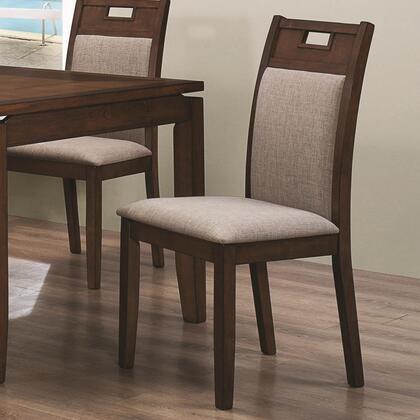 Coaster 103662 Warren Series Casual Microfiber Wood Frame Dining Room Chair