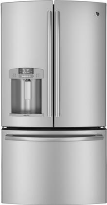 GE DFE29JSDSS  French Door Refrigerator with 28.6 cu. ft. Capacity in Stainless Steel
