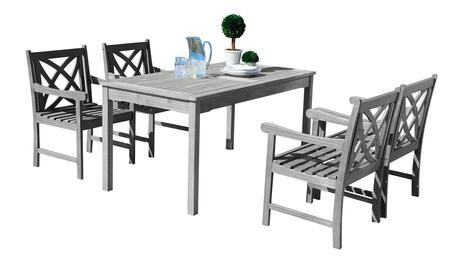 Vifah v1297set11 rectangular shape patio sets appliances for Outdoor furniture 0 finance