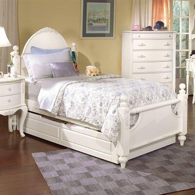 American Woodcrafters 1030033POS  Twin Size Poster Bed