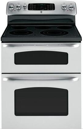 GE JB850STSS  Electric Freestanding Range with Smoothtop Cooktop, 4.4 cu. ft. Primary Oven Capacity, Oven in Stainless Steel