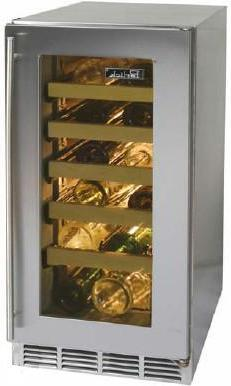 """Perlick HP15WS3RDNU 14.875"""" Freestanding Wine Cooler"""
