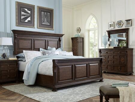 Broyhill 4912KPBNLCDMS Lyla King Bedroom Sets