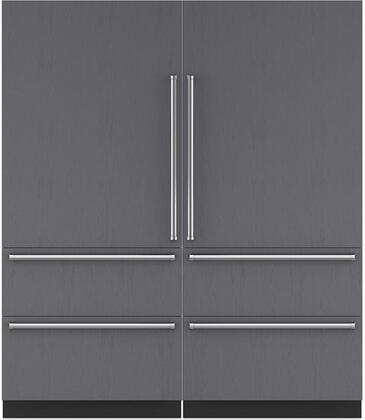 Sub-Zero 710437 Side-By-Side Refrigerators