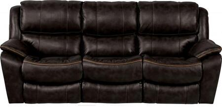 Catnapper 64511115208125208 Beckett Series  Faux Leather Sofa