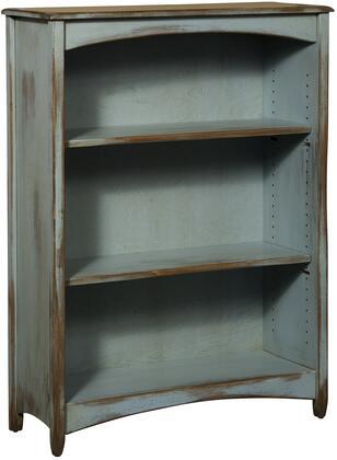 Chelsea Home Furniture 4650148SFDA Liliana Series Wood 2-3 Shelves Bookcase