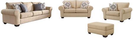 Milo Italia MI6370SLCOPARC Madalynn Living Room Sets