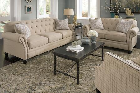Milo Italia MI3426SLAC22NATU Saniya Living Room Sets