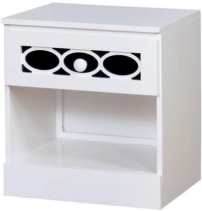 Furniture of America CM7853BLN Cammi Series  Night Stand