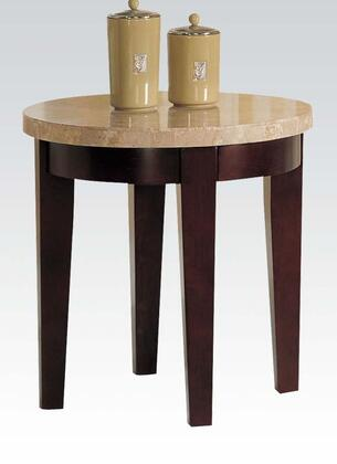 Acme Furniture 17143 Britney Series Contemporary Wood Oval End Table