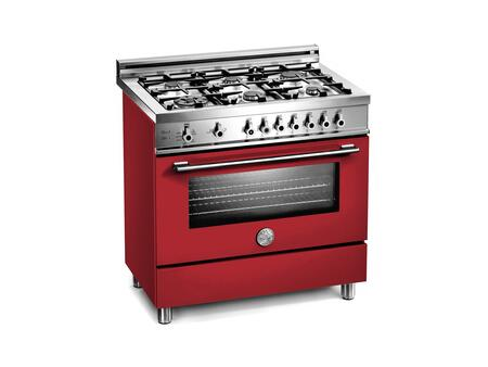 Bertazzoni X366GGVRO Professional Series Natural Gas Freestanding