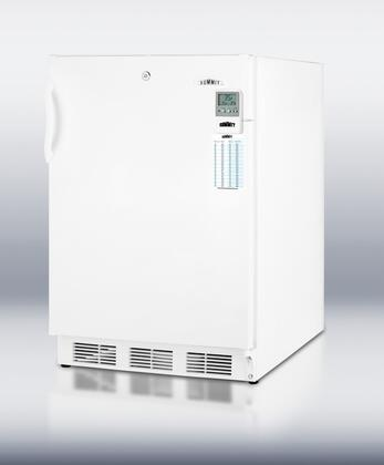 Summit CT66LBIMEDADA MEDADA Series Built In  Refrigerator with 5.1 cu.ft. Capacity, 1 Glass ShelfField Reversible Doors