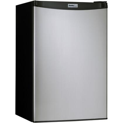 """Danby DCR044A2 20"""" Compact Refrigerator with 4.4 cu. ft. Capacity, Energy Star, Environmentally Friendly Refrigerant, Semi-automatic Defrost, Full Width Freezer, Reversible Door Hinge and Smooth Back"""