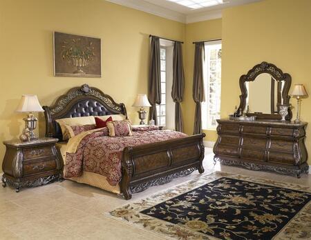 Pulaski 991180125SET Birkhaven California King Bedroom Sets