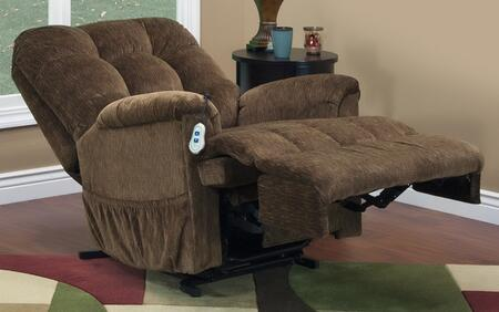 MedLift 5555VE Contemporary Fabric Wood Frame  Recliners