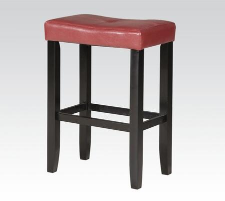 Acme Furniture 96244 Micha Series Bycast Leather Upholstered Bar Stool