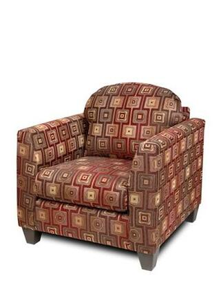 Chelsea Home Furniture 200CH Suzzy Chair with 1.5 Density Dacron Wrapped Cushions, Sewn Pillow Cushions, Hardwood and Zippered Cushions in