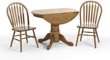 Intercon Furniture COTAI42247DCNTC Classic Oak Dining Room S