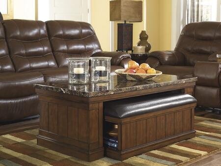 Signature Design by Ashley T838CTSTRED Living Room Table Set