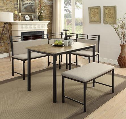4D Concepts 159369 boltzero corner dining nook