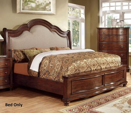 Furniture of America CM7350EKBED Bellavista Series  Eastern King Size Bed