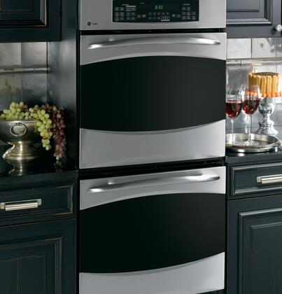 Ge Pk956srss Double Wall Oven In Stainless Steel