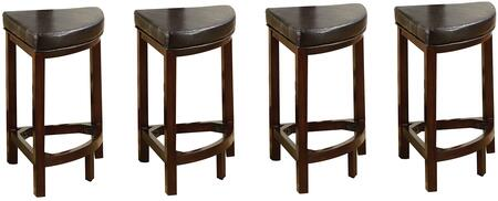 Acme Furniture 70362 Patia Series Residential Bycast Leather Upholstered Bar Stool