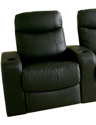 Wholesale Interiors 8326 Cannes Series Home Theater Left Seat in