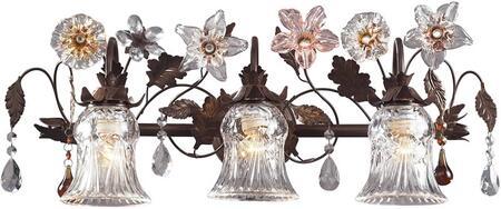 elk lighting cristallo fiore bath light 70423