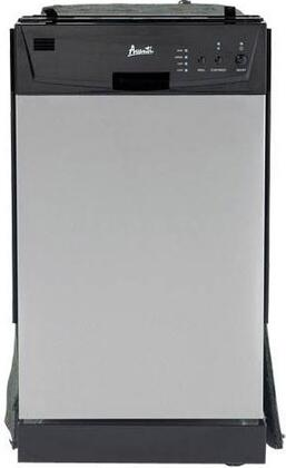 Avanti DWE1814SS  Built-In Full Console Dishwasher with in Stainless Steel