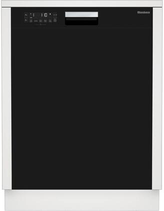 """Blomberg DWT25502 24"""" Energy Star Tall Tub Dishwasher with 14 Place Settings, 5 Cycles, 5 Wash Levels, Stainless Steel Tub, Front Controls and 48 dBA:"""