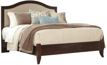 Signature Design by Ashley B4285658 Corraya Series  King Size Panel Bed