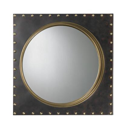 Sterling 51004 Porthole Series Round Both Wall Mirror