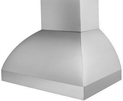 Prizer Hoods LARE Laredo Wall Mount Hood with Seamless Construction, 3-Speed Control, High Heat Sensor, Halogen Lighting and Baffle Filter, in Stainless Steel