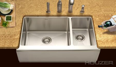 Houzer EPO3370SR1 Kitchen Sink