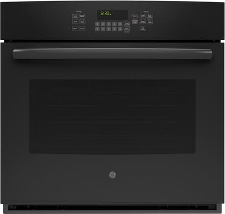 "GE JT5000 30"" Built-In Single Wall Oven with 5 cu. ft. Capacity, 3 Self-Clean Heavy Duty Oven Racks, Self Clean, Steam Clean, and Convection, in"