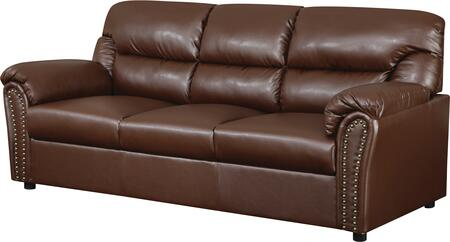 Glory Furniture G260S  Stationary Bonded Leather Sofa